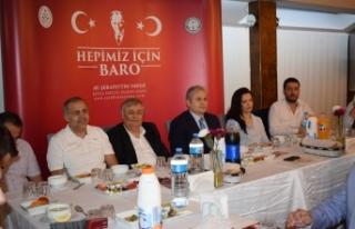Baro başkan adayı Avukat Şerafettin Yavuz genç...
