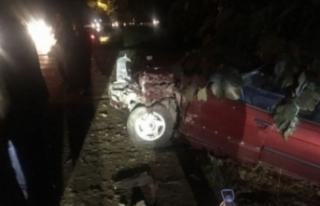Bursa'da bayram dönüşü kaza