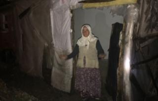 Bursa'da bir eve yıldırım düştü! 65 yaşındaki...