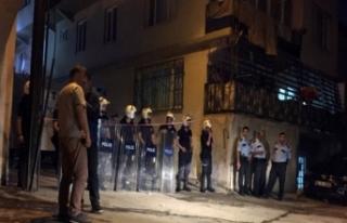 Bursa'da dehşet gecesi! Çevik Kuvvet müdahale...