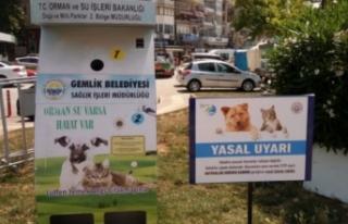 Bursa'da dikkat çeken uygulama