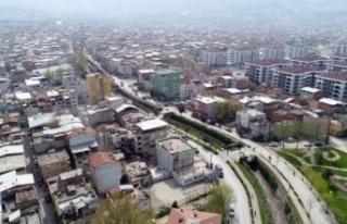 Bursa'da riskli alanda bulunan o binalar yıkılıyor