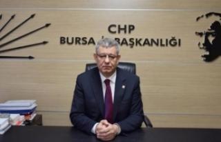 Süleyman Soylu'ya bir tepki de CHP Bursa İl...