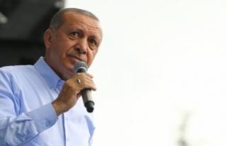 Cumhurbaşkanı Erdoğan Bursa'da konuştu, müjdeler...