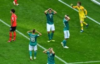 Dünya Kupası'nda Almanya depremi!