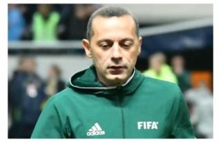 Dünya Kupası'nda Cüneyt Çakır'a ilk...