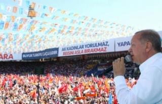 Erdoğan'dan stadyum müjdesi