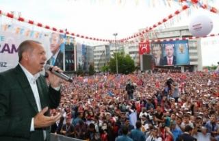 Erdoğan, Samsun'da duyurdu: Çarşamba ve perşembe...