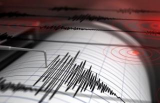 Gece yarısı 4.1 büyüklüğünde korkutan deprem!