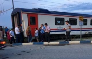 Genç kıza Manisa'da tren çarptı