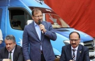 Hakan Çavuşoğlu Bursa'dan muhalefete yüklendi