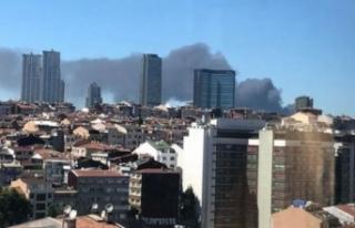 İstanbul'da korkutan yangın! Çevre ilçelerden...