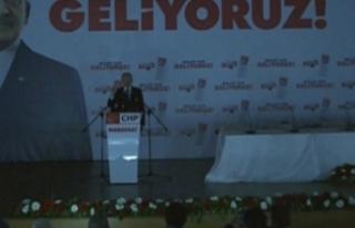 Kılıçdaroğlu'nun katıldığı toplantıda...