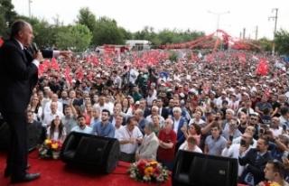 Muharrem İnce'den Erdoğan'a Bursa mitingi...