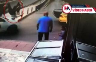Trafikte tartıştığı kişiye çarpıp kaçtı!...
