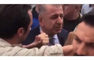 Ümit Özdağ'ın bulunduğu okulda kavga çıktı!