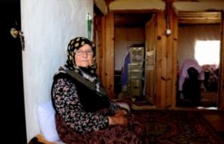 50 yıldır Bursa'nın dağ köyünde yalnız...