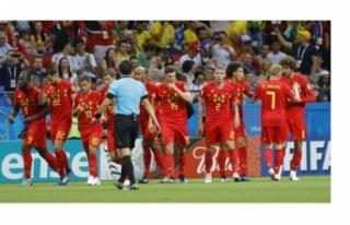 Belçika Brezilya karşısında tarih yazdı!