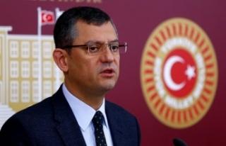 CHP'li Özel: Erdoğan'ın yemin törenine...