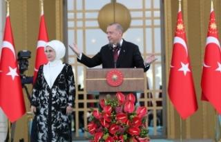 Cumhurbaşkanı Erdoğan gösterileri iptal etti