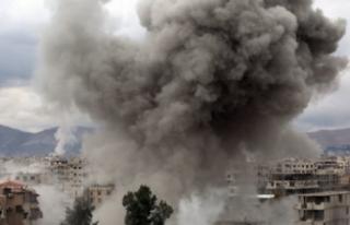 İsrail Suriye'yi vurdu! 9 ölü