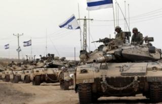 İsrail tankları Suriye sınırında