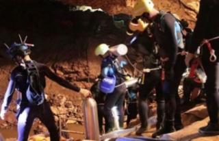 Mağarada mahsur kalmışlardı! Kurtarma operasyonu...