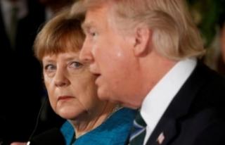 Merkel'den Trump'a 'savaş' tehdidi