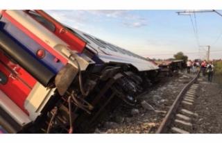 Tekirdağ'daki tren kazası ile ilgili önemli...