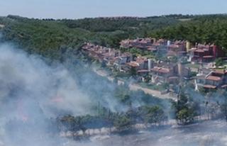 Bursa'daki orman yangını kontrol altına alındı!...
