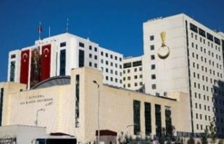 Bursa İl Jandarma Komutanlığı'nda nöbet...
