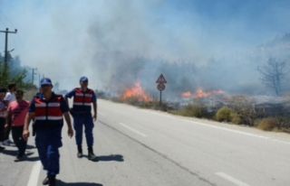Bursa Valisi İzzettin Küçük: Yangına bütün...