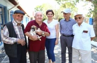 Bursa'da huzurevi sakinlerinden can dostlara destek!