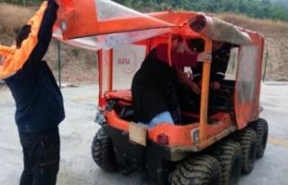 4'ü görme engelli 13 kişi böyle kurtarıldı