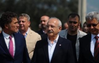 CHP lideri Kılıçdaroğlu'ndan Bursa'da...