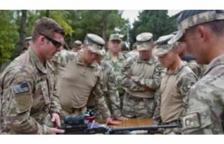 ABD askerleri Türkiye'de eğitimde
