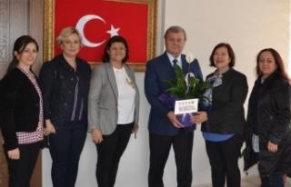 Bursa İTSO Kadın Girişimciler Kurulu Kaymakam Görücü'yü...