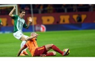 Bursaspor'un Galatasaray'a karşı yüzü...