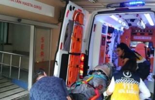 Çatıdan düşen 1 kişi öldü, 1 kişi yaralandı