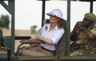 First Lady'den skandal tercih!