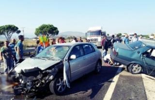 Korkunç kaza! 2 ölü, 2 yaralı