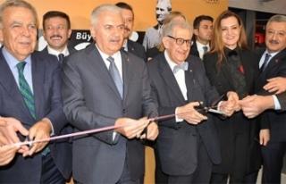 TBMM Başkanı Yıldırım Atatürk Sergisi'nin...