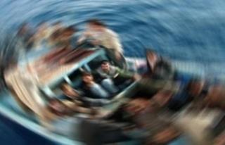 Tekne faciasında ölenlerden 4'ünün cenazesi...