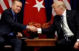Trump'tan Erdoğan'a teşekkür!