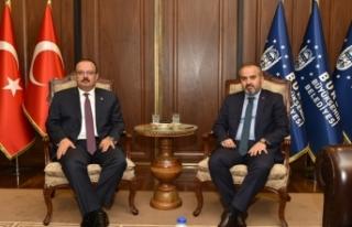 Bursa'nın yeni valisi Canbolat ilk Büyükşehir'in...