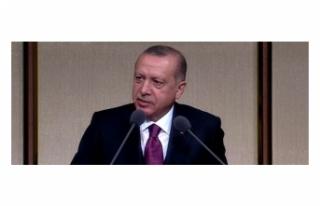 Erdoğan: Elektronik bağımlık daha büyük tehdit