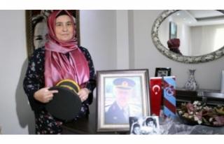 Şehit eşi Kulaksız: Teröristin ölümü bizim...