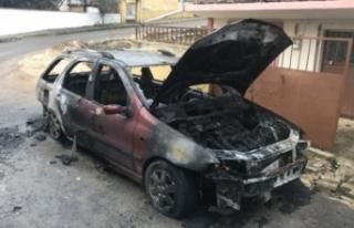Bursa'da korku dolu anlar! Park halindeki araç...