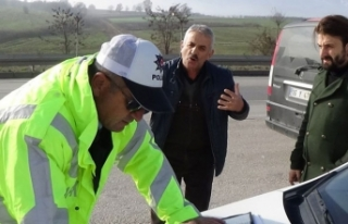 Bursa'da polise ceza tepkisi!