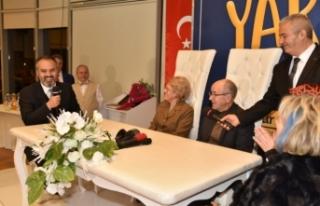 Bursa'da yarım asırlık çiftler 'aşk'...